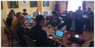 """Projekt találkozó a """"Smart Communities"""" szlovák-magyar INTERREG projekt keretén belül a GTK-n"""